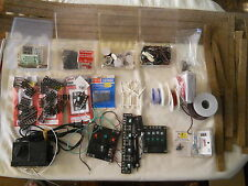 HO Train Accessories Lot Switches Wires Tracks