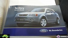 FORD TERRITORY OWNERS MANUAL