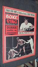 BOXE RING N.18 1969 - ITALIA STATI UNITI AL GARDEN NEL NOME DI ROCKY MARCIANO