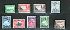 BERMUDA GEORGE V 1936 set to 1/6 lightly hinged and fresh