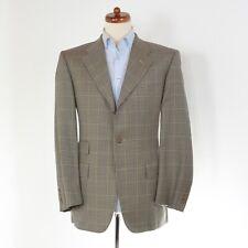 Corneliani Sakko Jacket Gr 50 Wolle Wool Plaidmuster Made in Italy HERBST Window