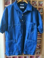 ✿ hemd kittel arbeitskleidung dunkelblau  kentaur work wear for men denmark L