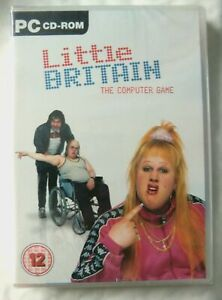 68443 - Little Britain The Computer Game [NEW / SEALED] - PC (2007) Windows XP