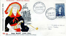 FRANCE FDC - 259 1167 1 JEAN BART DUNKERQUE 7 6 1958