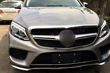For Mercedes Benz GLE Coupe C292 Front Grill Grille Cover Trim Frame 2015 2016