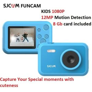 SJCAM 1080P Action Sport Flash Kids Outdoor Pocket Camera video Recorder 8Gb