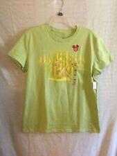 Disney Tinker Bell Shirt Women's LARGE T-Shirt TINK Tinker Bell Green  Fairy NEW