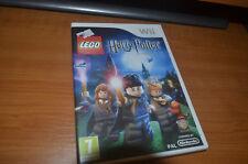Détails sur  jeu wii lego harry potter années 1 à 4 complet avec sa notice