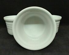 New listing Le Creuset France (set of 3) Stoneware White Small Ramekins, Stackable