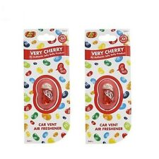 Jelly Belly Very Cherry Flavour Vent Car Air Freshener - Pack of 2