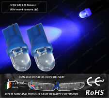 LED W5W 501 T10 Wedge Xenon Blue Sidelights Parking Side Interior Light Bulbs
