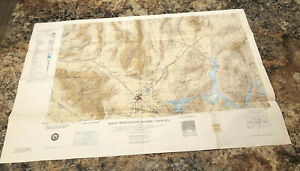 1966 Edition 1 Topographic Map Las Vegas,Nevada,Arizona,California,JOG (G)1501