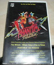 Brian de Palma : Phantom of the Paradise / CBS VHS - große Box RAR