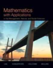 Mathematics with Applications In the Management, Natural and Social Sciences 11