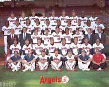 1982 CALIFORNIA ANGELS BASEBALL TEAM 8X10 PHOTO