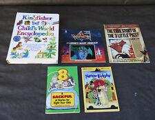 Bulk Lot Childrens Books Kingfisher Childs World Encyclopedia Voltron Ann Martin