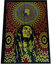 New Bob Marley Cotton Textile Poster/Flag Wall hanging Tapestry Table Cloth