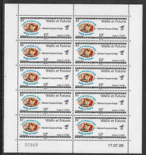WALLIS & FUTUNA 2006 RUGBY 7's RUGBY FEDERATION SHEET of 10 MNH