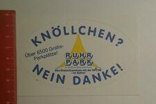 Aufkleber/Sticker: Ruhrpark Knöllchen nein danke (271016180)