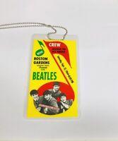 1964 Beatles Boston Gardens Crew All Access Backstage Pass