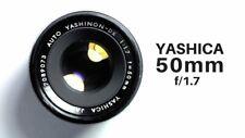 YASHINON-DX CHROME  1:1.7 f=50mm YASHICA Linse, gebraucht