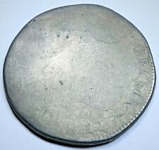 1812 Mexico War Of Independence Silver 8 Reales Antique Mexican Revolution Coin