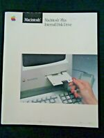 Vintage 1980's Apple Macintosh Plus Internal Disk Drive Computer User Manual Mac