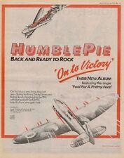 Humble Pie LP advert 1980