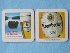Beer Bar Coaster ~ KROMBACHER Pils ~ No.1 Beer in Germany...Natural & Pure Taste