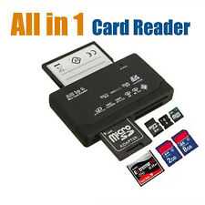 All in One Kartenlesegerät Kartenleser Card Reader Micro SD MMC M2 USB schwarz
