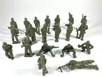 Marx Vintage US Army Training Center Toy Soldiers Army Men GIs 45mm Lot/20
