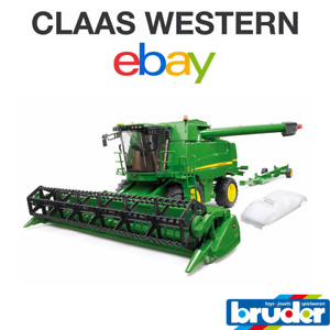 Bruder John Deere Combine harvester T670i 02132