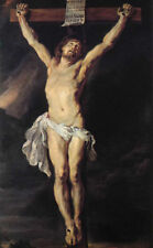 ZOPT298 The Crucified Christ Jesus 100% hand painted oil painting art canvas