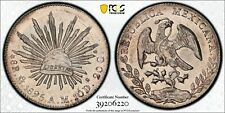 1895 Mexico 8 Reales PCGS MS63 PL Proof Like POP 1/1 NO OTHERS GRADED!