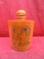 Vecchio Snuff - Bottle__Erotica Rappresentazioni Distintivo __ Cina __