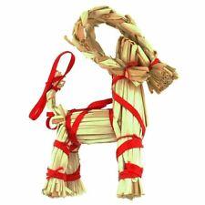 """Scandinavian Straw Goat Julbok 4"""", NEW"""