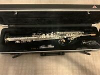 IW 661 Silver Soprano Saxophone - Pro Model, High G, -  NAMM show special