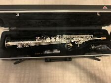 IW 661 Silver Soprano Saxophone - Pro Model, High G, NAMM Show Special