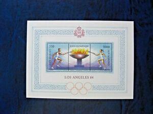 Rep. San Marino 1984 Olimpiadi di Los Angeles foglietto MNH**