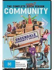 COMMUNITY SEASON 6 DVD NEW R4 2016 2-Disc Set FINAL SERIES JOEL MCHALE