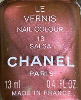 Chanel nail polish 13 SALSA rare limited edition VINTAGE