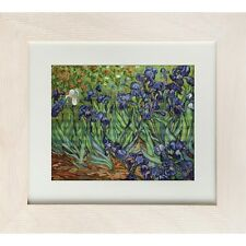 Gobelin Needlepoint Tapestry embroidery Kit Irises Van Gogh Luca-S Petit point