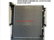 MITSUBISHI L200 WARRIOR 2.5 DiD KB4T B40 AUTO + MANUAL RADIATOR 06+ BRAND NEW