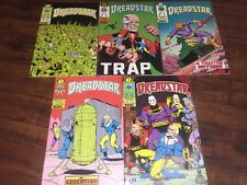 5 Pc Epic Comics Lot Dreadstar #18,19,20 1985 & #25, 26 1986 Marvel Comic Books