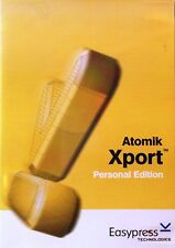 ATOMIK XPORT Personal Edition Easypress Technologies Software QuarkXpress to XML