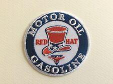A202 // ECUSSON PATCH AUFNAHER TOPPA / NEUF / RED HAT GASOLINE / 7.5 CM
