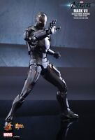 HOT TOYS 1/6 MARVEL AVENGERS MMS282 IRON MAN MARK VII STEALTH MODE ACTION FIGURE