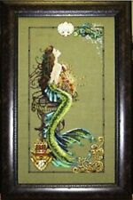 Mermaid of Atlantis Counted cross stitch chart Pattern