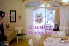 PRISCILLA PRESLEY ELVIS GRACELAND MANSION DINING ROOM PIANO 1960s PHOTO CANDID