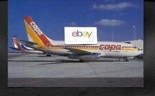 COPA COMPANIA PANAMENA DE AVIACION S.A. BOEING 737-230C #HP-1134-CMP POSTCARD